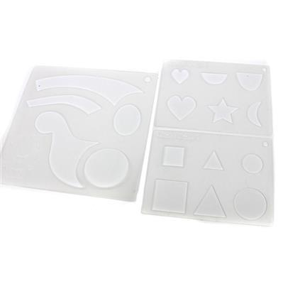 Template Stencil Set - 3 Pack