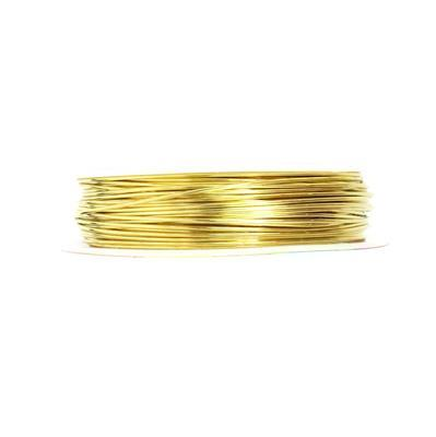10m Gold Coloured Copper Wire Approx 0.80mm