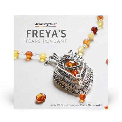 Freya's Tears Pendant with Claire Macdonald