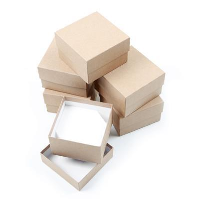 Essential Kraft Bangle/Watch Box, 90x90x57mm (6pk)