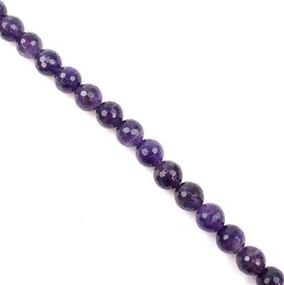 230cts Amethyst Faceted Rounds Approx 10mm 38cm