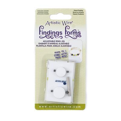 Findings Forms Adjustable Ring Jig