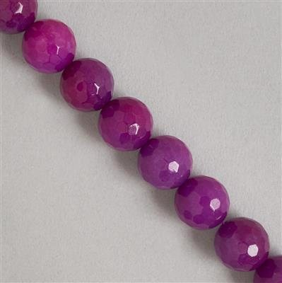 340cts Purple Quartzite Faceted Rounds Approx 12mm