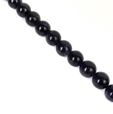 370cts Amethyst Plain Rounds Approx 12mm, Approx 38cm/strand