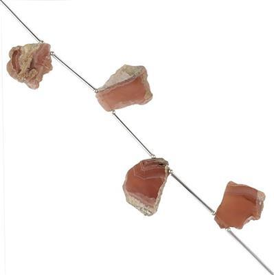 92cts Rhodochrosite Graduated Plain Slabs Approx 20x16 to 27x18mm