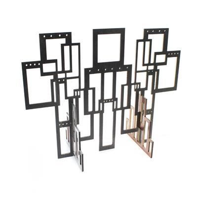 MDF Geometric Jewellery Display