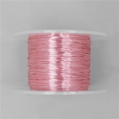 100m Pink Coloured Copper Wire 0.6mm