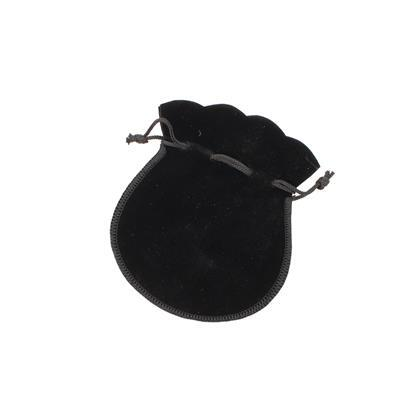 Large Velvet Bell Shaped Pouch 117x135mm (WxH)