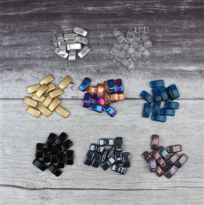 Get Carried Away INC eight colours of XL Carrier Beads for all your beading projects!