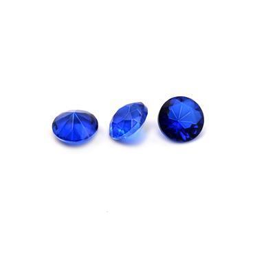 10mm Crystal Rivoli Dark Blue (3pk)