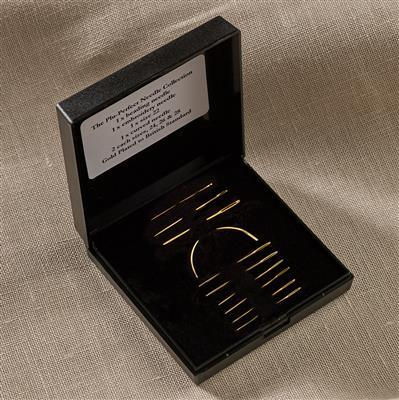 Plu-Perfect Gold Plated 10 Needle Collection by Jane Greenoff