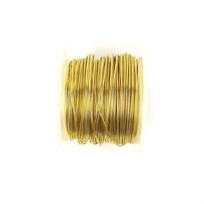 50m Gold Coloured Copper Wire 1mm