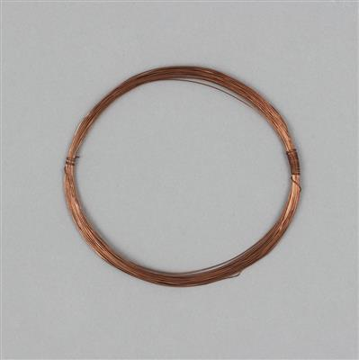 10m Bare Copper Wire Approx 0.4mm