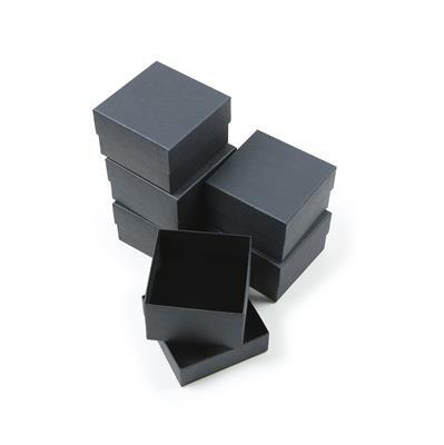 Essential Black Bangle/Watch Box, 90x90x57mm (6pk)
