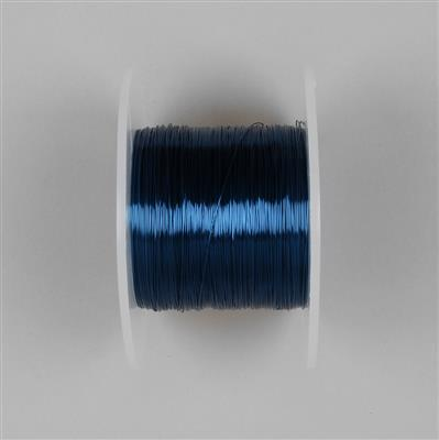 100m Blue Coloured Copper Wire 0.4mm
