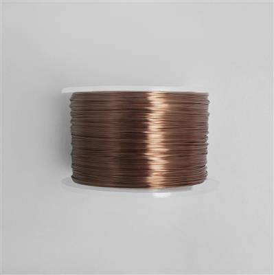 100m Antique Bronze Coloured Copper Wire 1.0mm