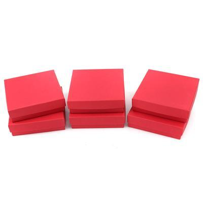 Red Universal Boxes 85x85x25mm (6pk)