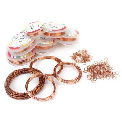 Bare Copper Collection! Wire, Jumnp Rings and Artistic Wire