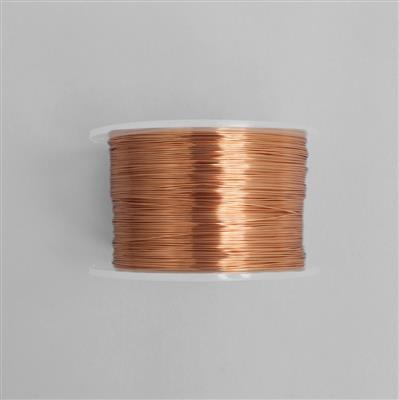 100m Copper Coloured Copper Wire 1.0mm