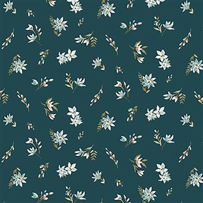 Liberty Lawn in Teal from Winterbourne House Range 0.5m