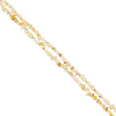 40cts Ethiopian Opal Plain Small Nuggets Approx 2x1 to 7x4mm, 85cm Strand.
