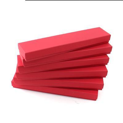 Red Bracelet Boxes Approx 223x50x22mm (6pk)
