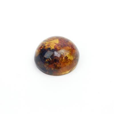 Dominican Amber Cabochon Approx 18mm  (1pc)