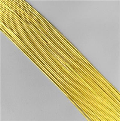0.60mm 23 gauge gold plated copper wire