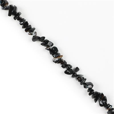 300cts Black Agate Small Nuggets from Approx 5x2 to 10x7mm, 84cm