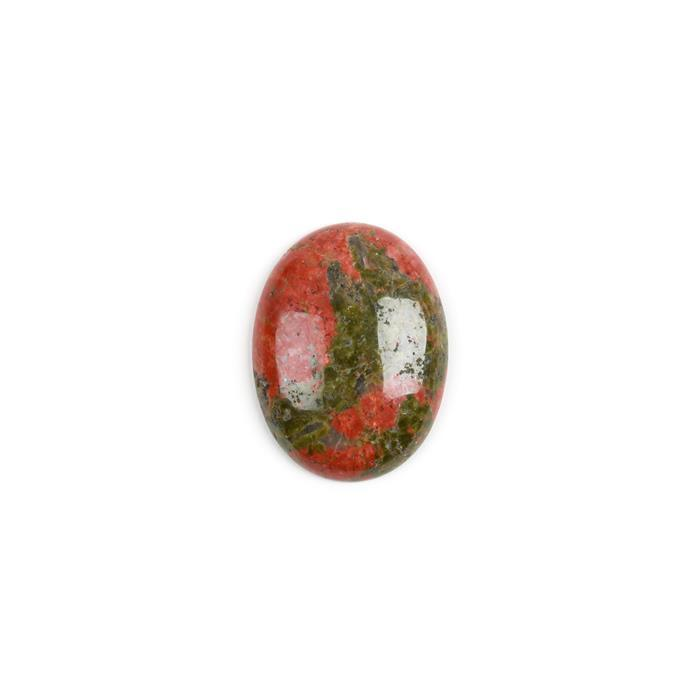 55cts Unakite Oval Cabochon Approx 40x30mm
