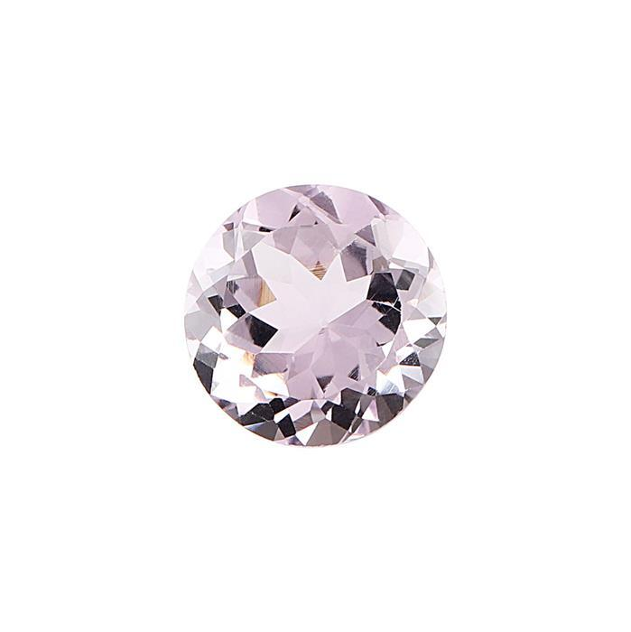 5cts Pink Amethyst Brilliant Cut Round 12mm.