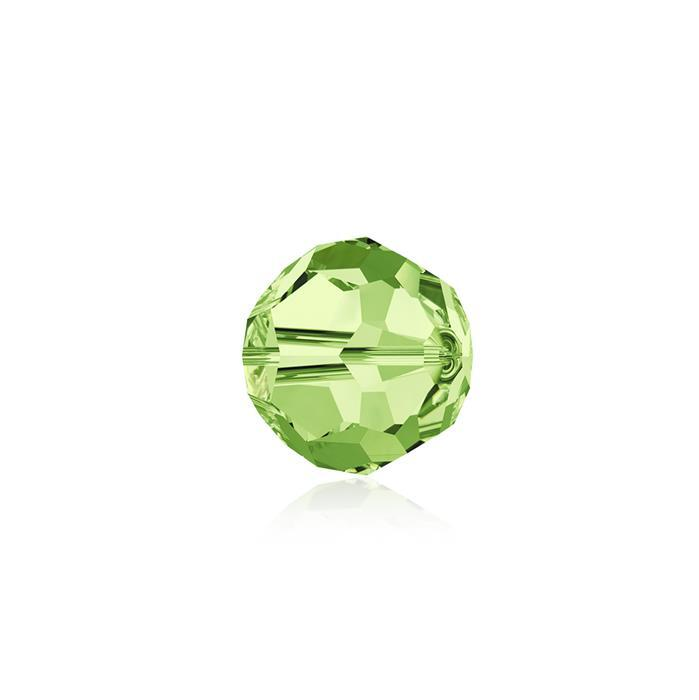 Swarovski Crystal Beads - Pack of 12 Round 5000 - 6mm Peridot
