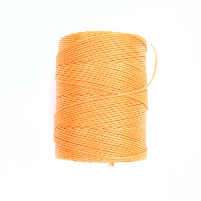70m Neon Orange Nylon Cord Approx 0.4mm