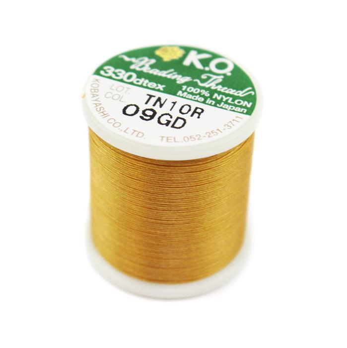 KO Beading Thread Gold Approx 50m