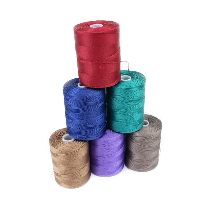Colourful Cord! Inc; 1560m Cocoa, Red, Royal Blue, Teal, Sable & Amethyst Nylon Cord 0.3mm