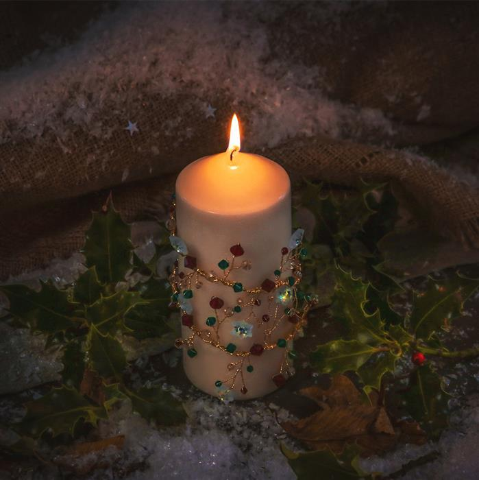 Swarovski Christmas Candle Kit