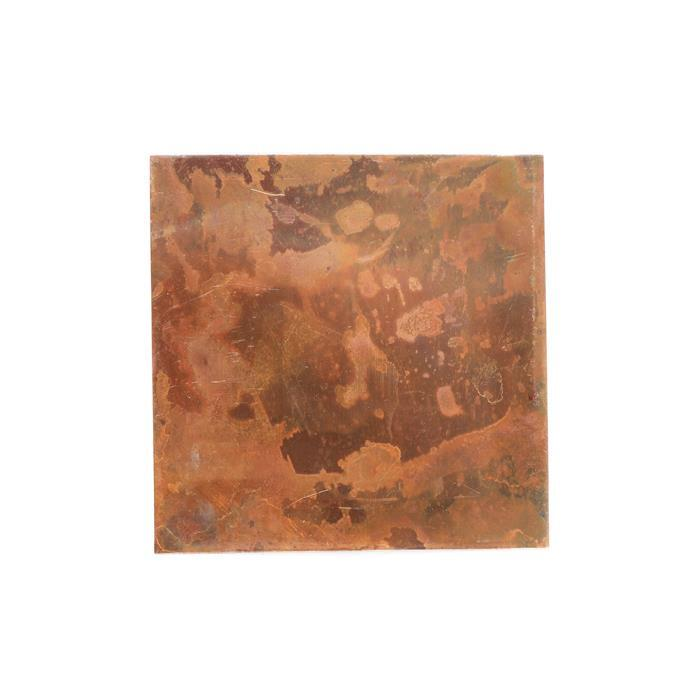 Antique Copper Sheet 0.32mm 4x4 inches