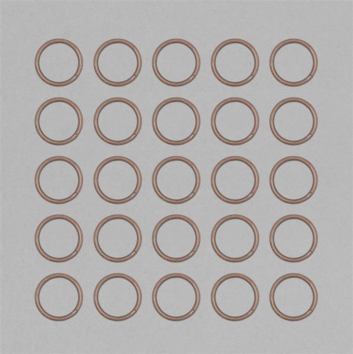 Bare Copper Hollow Open Jump Ring Approx 30mm & Thickness 3mm (25pcs)