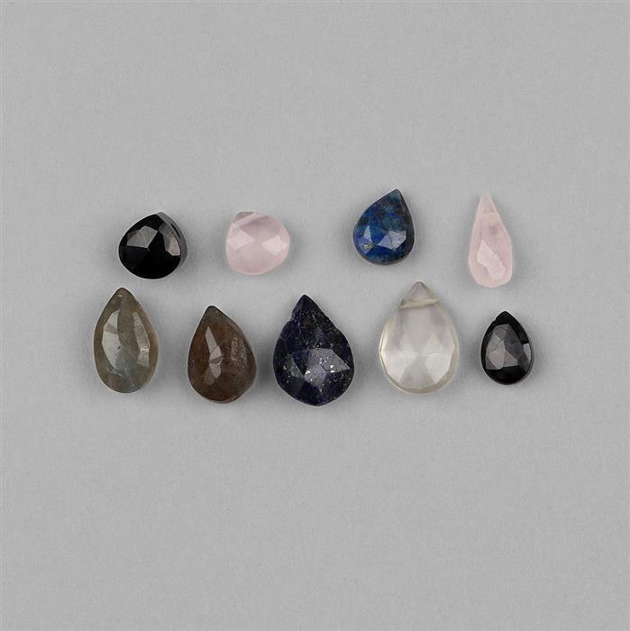 146cts Multi Gemstone Mix Shapes Assortment.