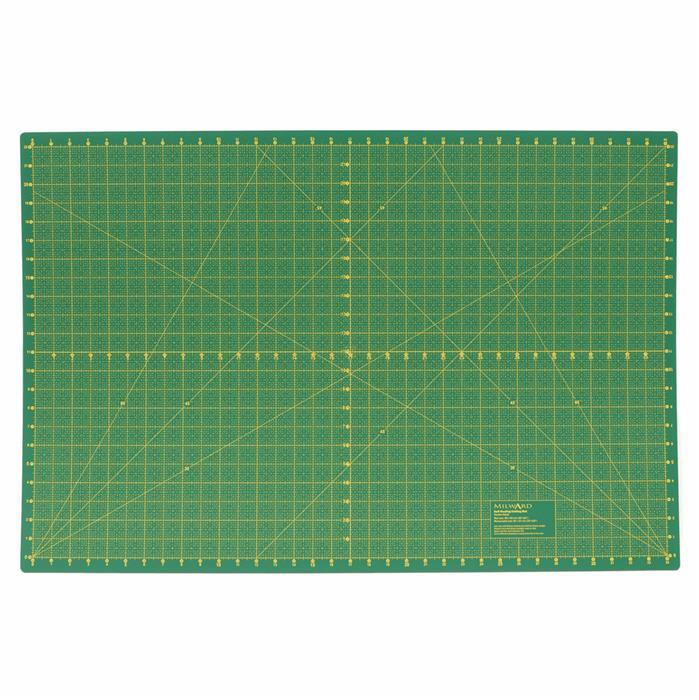 Milward Extra Large Cutting Mat: Metric & Imperial: 90 x 60cm