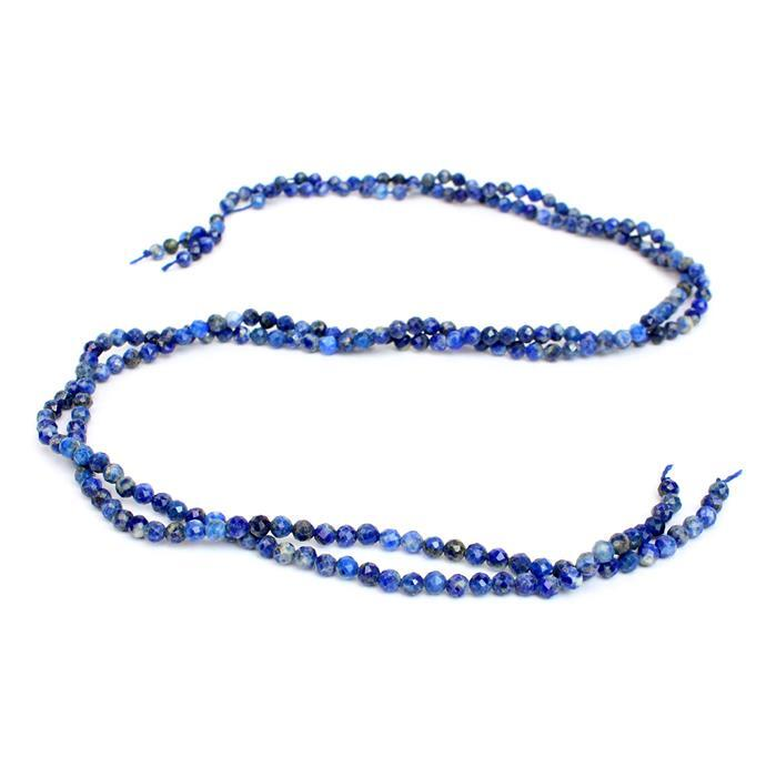 5 o'clock Mega Deal - Out Of This World Deal! Inc; 2 x 20cts Lapis Lazuli Faceted Rounds Approx 3mm 38cm