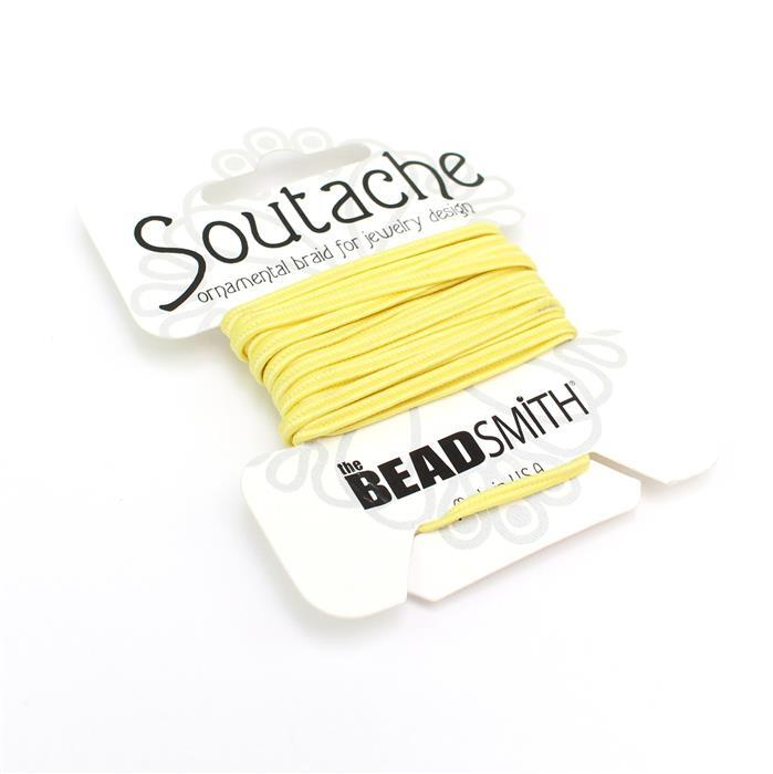 Maize Soutache Cord 3yards 3mm