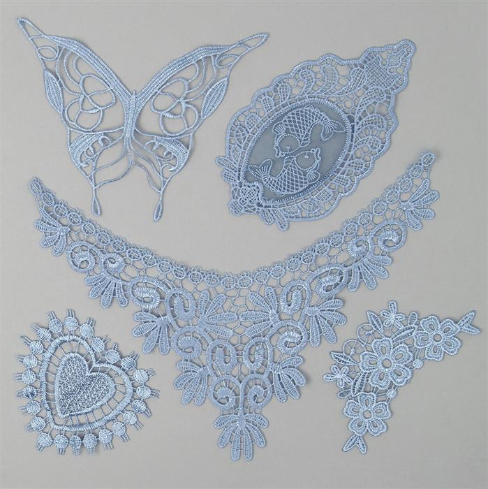 Bluebell Pretty Lace Bundle (Set of 5)