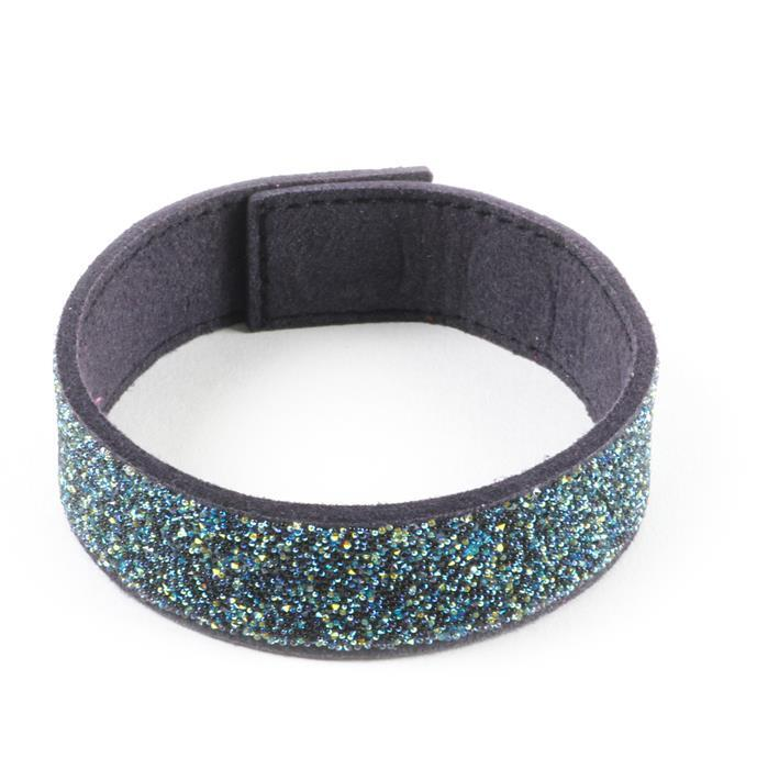 Swarovski Transfer with Magnetic Bracelet – Navy