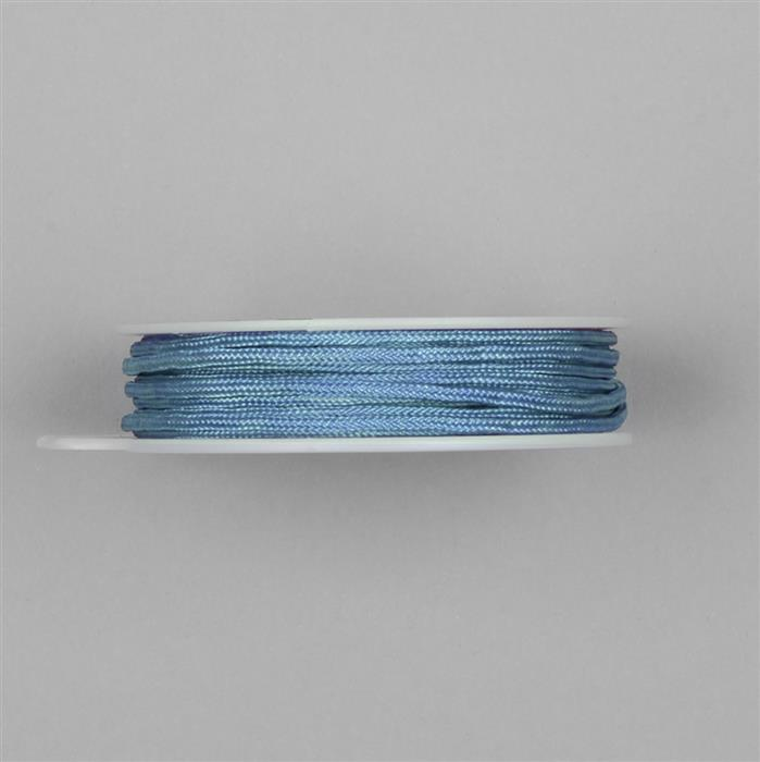 3m Neon Blue Knotting Cord Approx 2mm