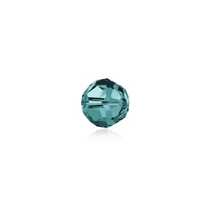 Swarovski Crystal Beads - Pack of 12 Round 5000 - 4mm Blue Zircon