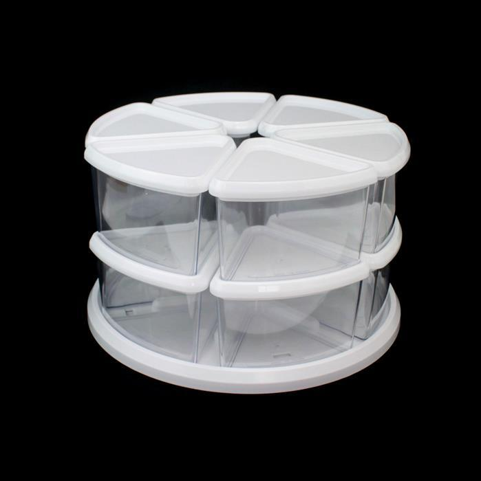Deflecto Storage 9 Tub Carousel Approx 28x16x28cm