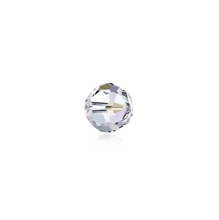 Swarovski Crystal Beads - Pack of 12 Round 5000 - 4mm Crystal AB