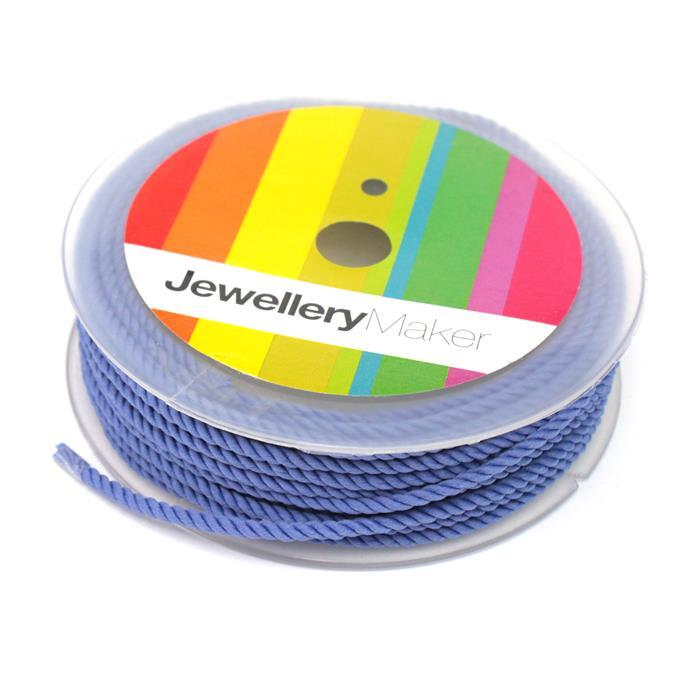 2mm Blue Milan Cord, Approx 8m