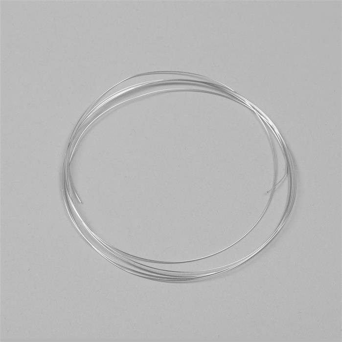 5m 925 Sterling Silver Wire Approx 0.4mm